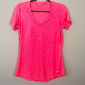 Under Armour   Pink Athletic Tee